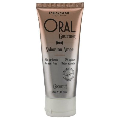 Oral Gourmet Gel Beijável Coconut