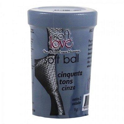 Bolinha 50 Tons de Cinza Soft Ball