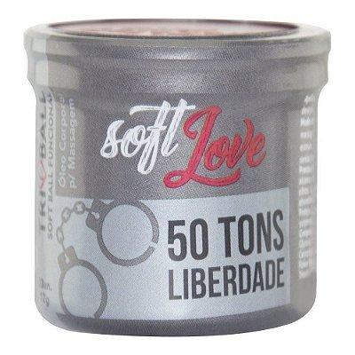 Bolinha 50 Tons de Liberdade Tri Ball Soft Love - 3 Unidades