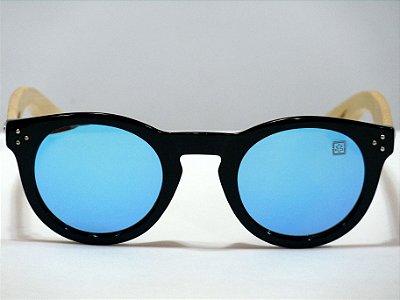 Noronha - PC com bambu - preto - Lente Azul
