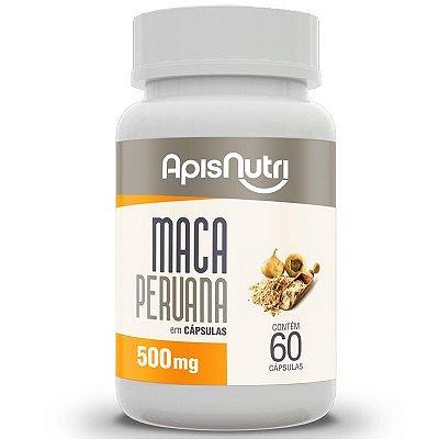Maca Peruana 120 cápsulas 550 mgs - Apis Nutri