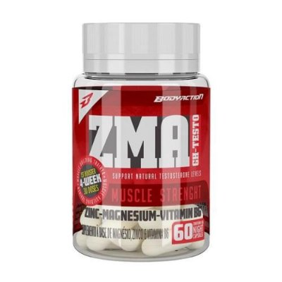 ZMA GH Testo 60 Cápsulas - Body Action