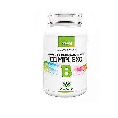 Complexo B 60 Compr 220 mgs - Vital Natus