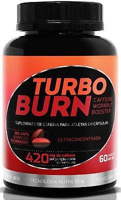 Turbo Burn Queimador de Gorduras 60 Cáps Gel - Ekobé