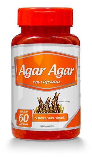Agar - Agar 120 Cápsulas 530 mg - Promel