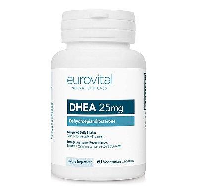 DHEA 25mg 60 Cápsulas - Eurovital