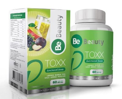 Detox Natural Be Toxx- 60 caps Gel - Ekobé