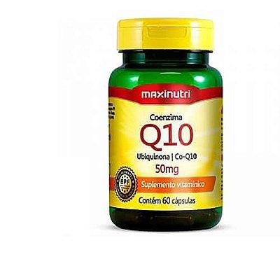 CO Enzima Q10 50 mg 60 Cápsulas - Maxinutri