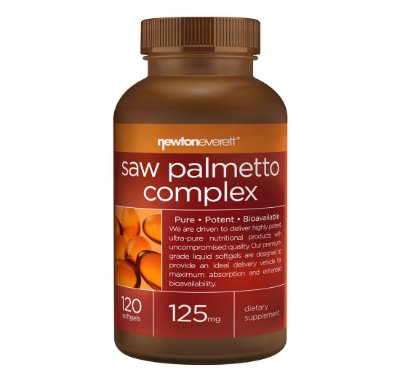 Complexo Saw Palmetto 125 mg 120 Capsulas - Newton Everett
