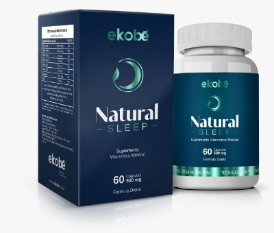 Natural Sleep 60 Cáps 500 mg- Ekobé