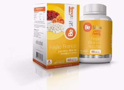 Feijão Branco,Goji Berry,Fibra de laranja e Cromo 60 Cáps- Ekobé