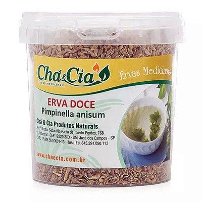Erva Doce- Pimpinella Anisum- Pote 100 grs- Cha e Cia