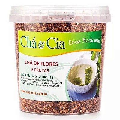 Chá de Flores e Frutas- Pote 100 grs- Cha e Cia