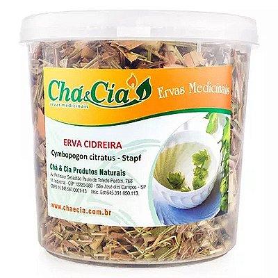 Erva Cidreira - Cymbopogon Citratus- Pote 40 grs- Cha e Cia