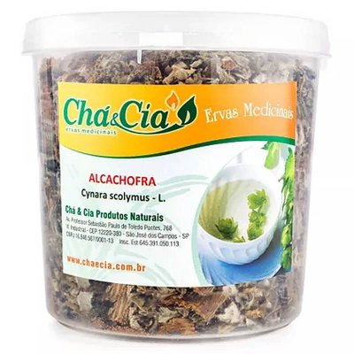 Alcachofra - Cynara Scolymus - Pote 60 grs- Cha e Cia