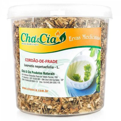 Cordão de Frade- Leonotis Nepetaefolia- Pote 60 grs- Cha e Cia