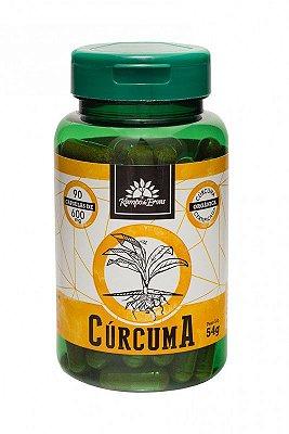 Cúrcuma Orgânica 90 Cáps 600 mg - Kampo de Ervas