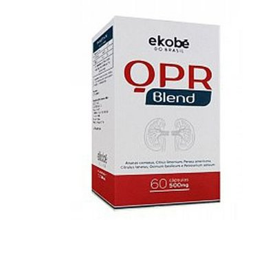 Limpeza do Organismo QPR Blend- 60 Caps 500 mg Gel - Ekobé
