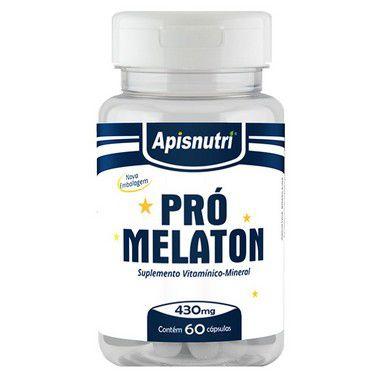 Pró Melaton 60 Cápsulas 440 mg Melatonina - Apis Nutri
