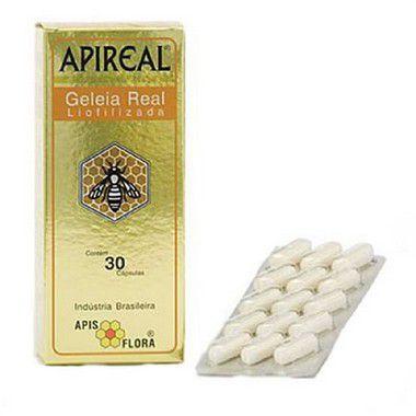 Apireal Geléia Real 30 Cápsulas - Apis Flora