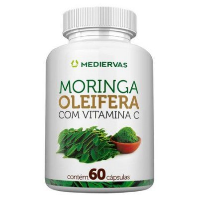 Moringa Oleifera- 60 Caps- 500 mg-Mediervas