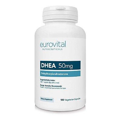 DHEA 50 mg 180 Cápsulas - Eurovital