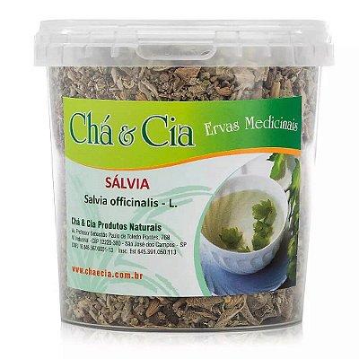 Salvia- Salvia Officinalis- Pote 60 grs - Cha e Cia