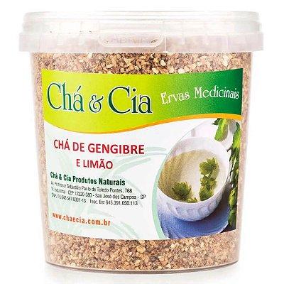 Gengibre com Limão-Pote 100 grs-Cha e Cia