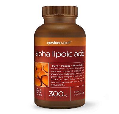 Acido Alfa Lipoico-300 mg-60 Capsulas- Newton Everett