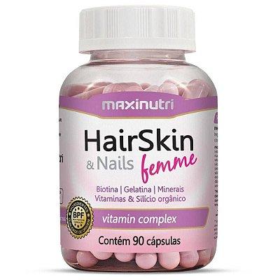 Hairskin & Nails Femme -90 Capsulas- Maxinutri