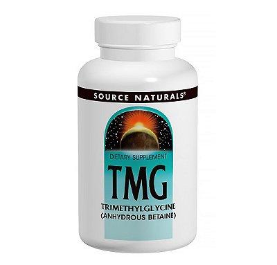 TMG (Trimetilglicina) 750mg 60 Comprimidos-Source Naturals