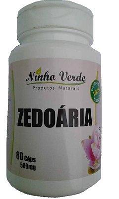 Zedoaria 60 Capsulas - Ninho Verde
