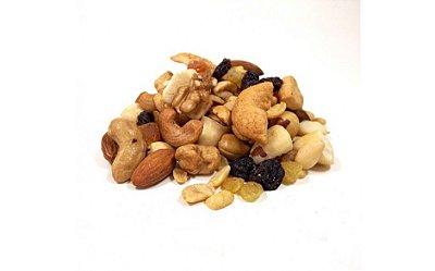 Mix de Castanhas e Frutas Desidratadas - 200 grs - Deluf Store