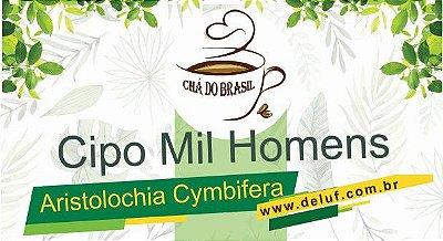 Cipo Mil Homens - Aristolochia Cymbifera - 250 grs - Cha do Brasil