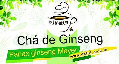Ginseng - Panax Ginseng Meyer 250 grs - Cha do Brasil