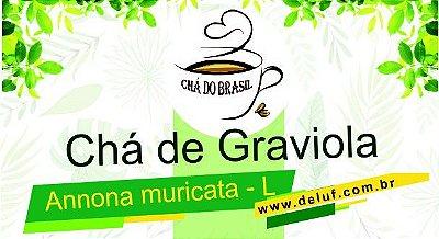 Chá de Graviola - Annona muricata - L - 250 gr  -  Cha do Brasil
