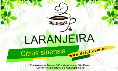 Laranjeira - Citrus Sinensis - 250 grs - Cha do Brasil
