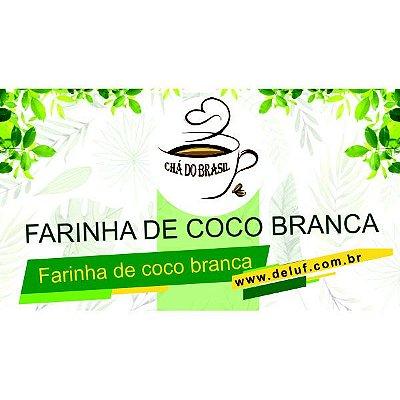 Farinha de Coco Branca - 250 grs - Cha do Brasil