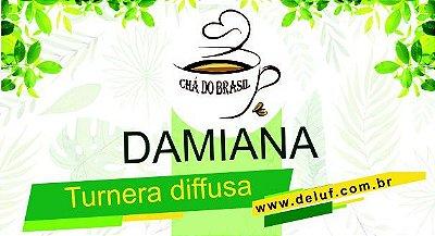 Damiana (Turnera diffusa ) 250 gr. - Cha do Brasil