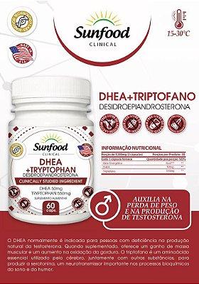 DHEA 50mg + TRIPTOFANO 550mg - 60 Cps - Sunfood