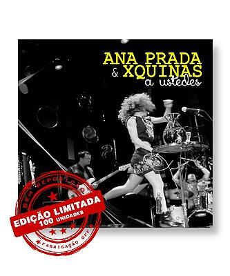CD Ana Prada & XQuinas - A Ustedes (EDIÇÃO LIMITADA)