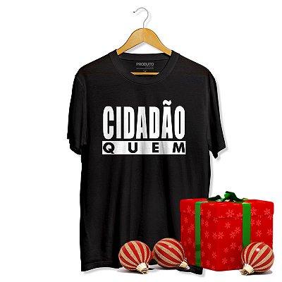 T-Shirt Duca Leindecker - Cidadão Quem