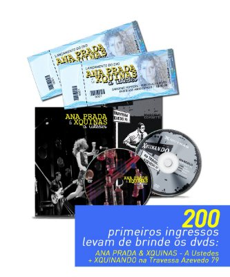 Ingresso - Ana Prada & XQuinas no Sargent Peppers