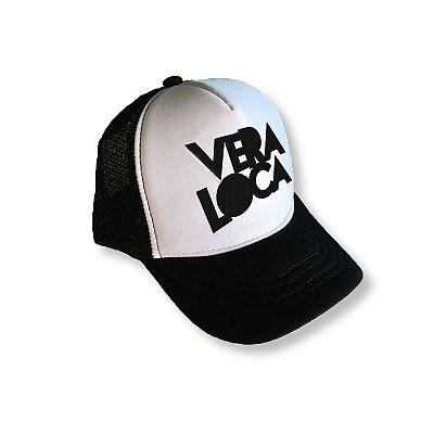 Boné Trucker Bordado - Vera Loca