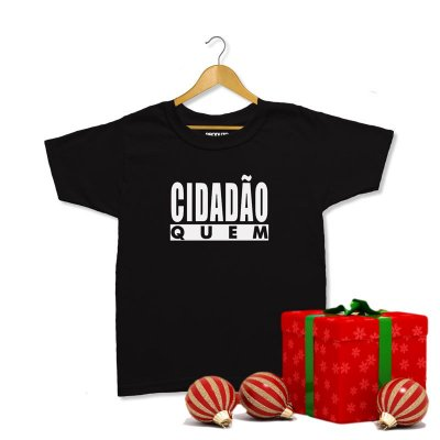 T-Shirt Duca Leindecker - Cidadão Quem - Infantil Unissex