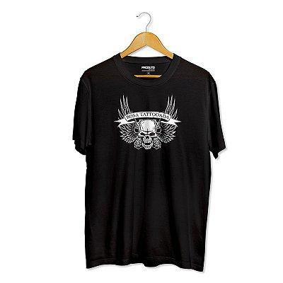 T-Shirt Rosa Tattooada (LANÇAMENTO)