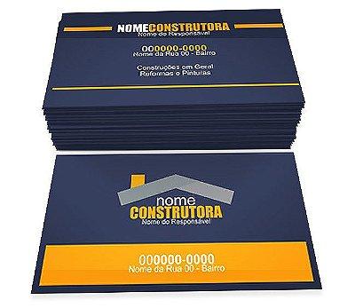 CARTÃO DE VISITA - COUCHÊ BRILHOSO 250G - 4x4
