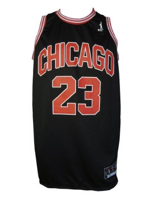 Regata Basquete Chicago 23 Preto