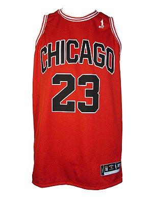 Regata Basquete Chicago 23 Vermelho