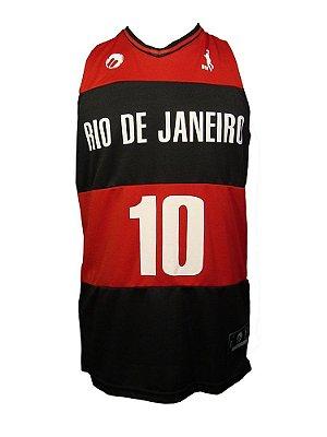 Regata Basquete Rio de Janeiro 10 Vermelho